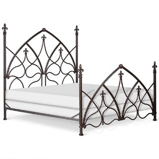 Corsican 42890 Hand-forged Iron Gothic Night Bed