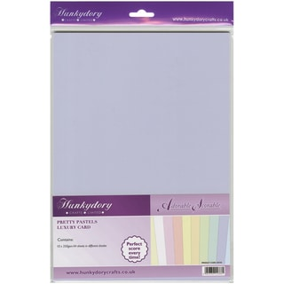 Adorable Scorable 350gsm Cardstock Assortment Pack A4 10/PkgPretty Pastels