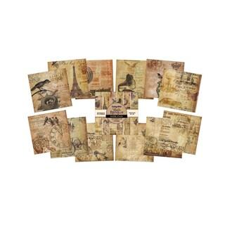 IndigoBlu Paper Stack 190gsm Cardstock 6inX6inBelle Epoque