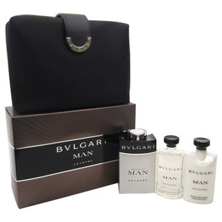 Bvlgari Man Extreme Men's 4-piece Gift Set
