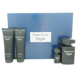 Perry Ellis Night Men's 4-piece Gift Set