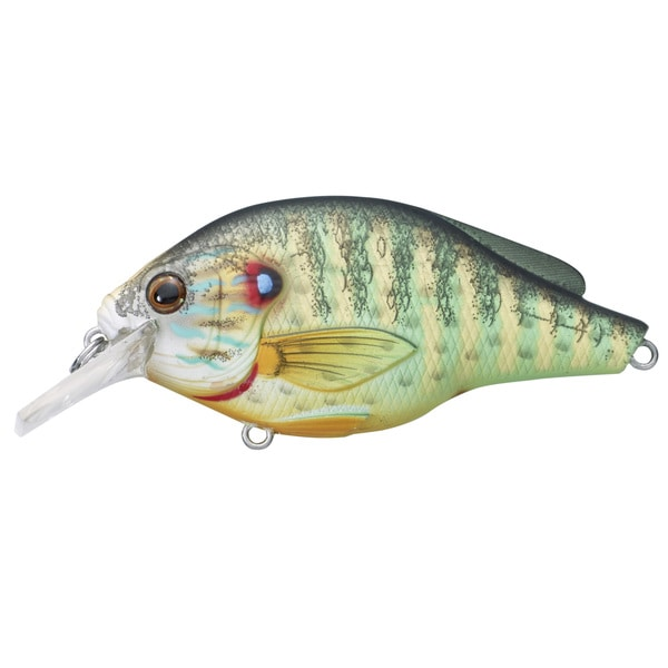 Livetarget Pumpkinseed Flat Side Squarebill Natural/ matte no. 66