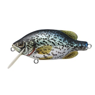 Livetarget Crappie Crankbait Metallic/ gloss no. 64