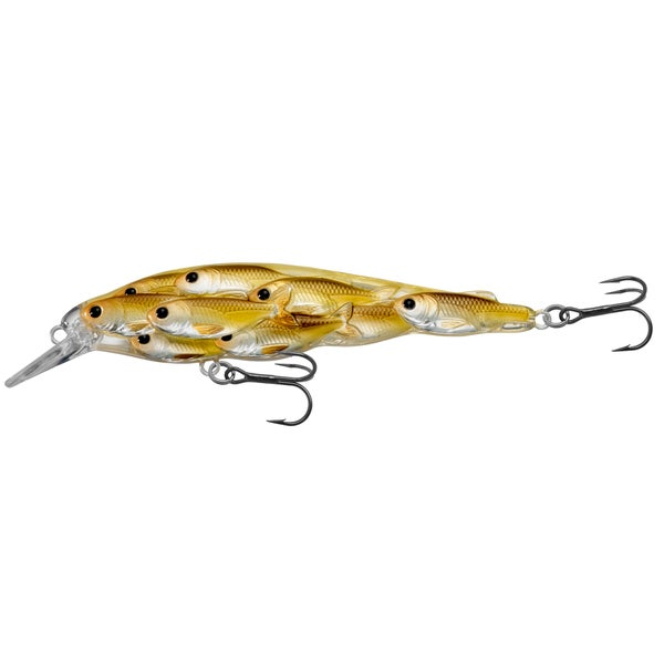 Livetarget Yearling Baitball Jerkbait Pearl/ olive Shad no. 64