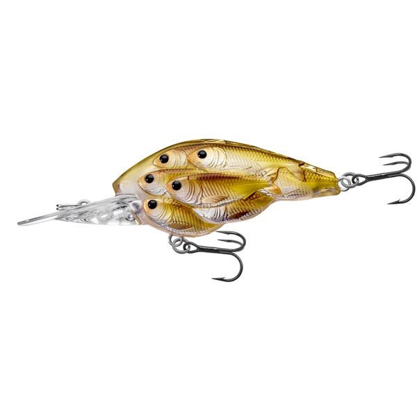 Livetarget Yearling Baitball Crankbait Pearl/ olive Shad no. 64