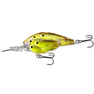 Livetarget Yearling Baitball Crankbait Chartreuse/ black no. 64