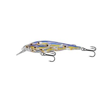 Livetarget Yearling Baitball Jerkbait Pearl/ violet Shad no. 64