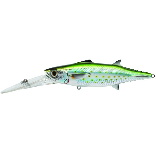 Livetarget Spanish Mackerel Trolling Bait Silver/ green 2/ 0