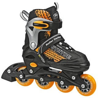 Stryde Boy's Adjustable Inline Skates (Option: Yellow)