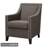 Oliver & James Sarah Chic Nailhead Accent Chair