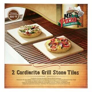 Blue Rhino Cordierite Grill Stone Tiles (Set of 2)