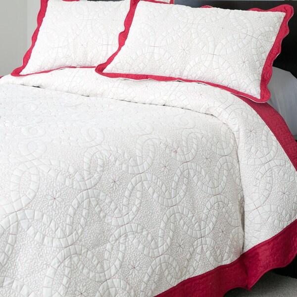 Windsor Home Eileen Embroidered 3-piece Quilt Set
