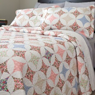 Windsor Home Savannah Quilt Set Free Shipping On Orders