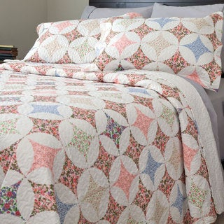 Windsor Home Dominique 3-piece Quilt Set