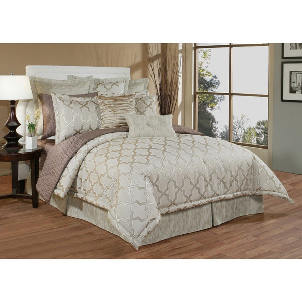 Austin Horn En' Vogue Glamour Quartz 6-piece Luxury Comforter Set