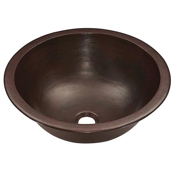 """Sinkology Darwin 15.5"""" Dual Mount Handmade Pure Copper Sink. Opens flyout."""