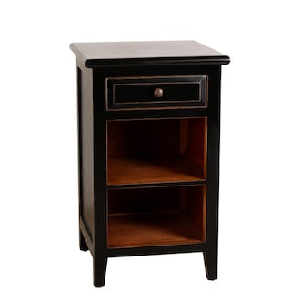 Porthos Home Xander 26 Inch Wooden Side Table