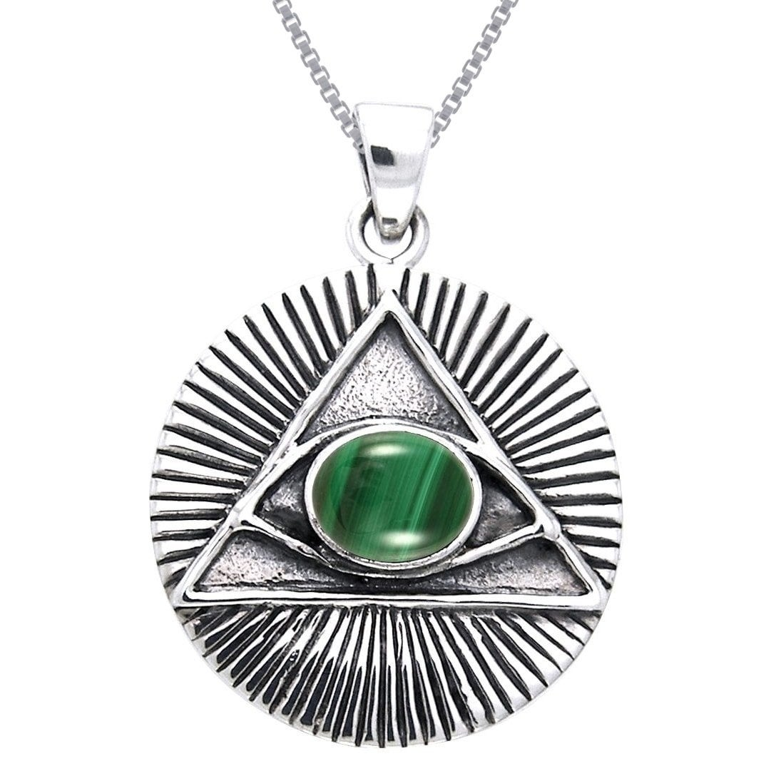 Carolina Glamour Collection Sterling Silver Eye of Horus ...