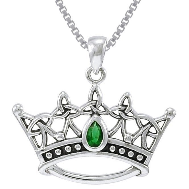 Carolina Glamour Collection Sterling Silver Celtic Trique...
