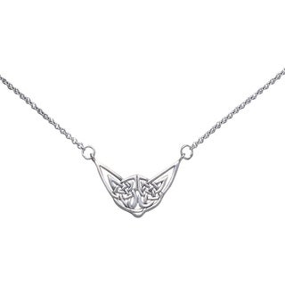 Sterling Silver Celtic Knotwork Necklace