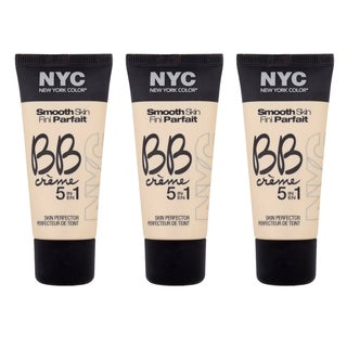 N.Y.C. BB Creme Light Foundation (3 Pack)