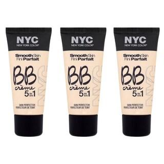 N.Y.C. BB Creme Medium Foundation (Pack of 3)