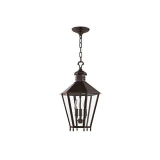 Hudson Valley Barstow I 3-Light Small Lantern, Old Bronze