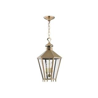Hudson Valley Barstow I 3-Light Small Lantern, Aged Brass