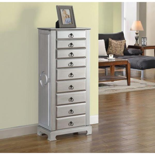 Amazing 8 Drawer Large Jewelry Armoire