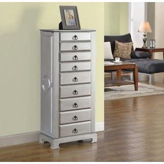 8-drawer Large Jewelry Armoire