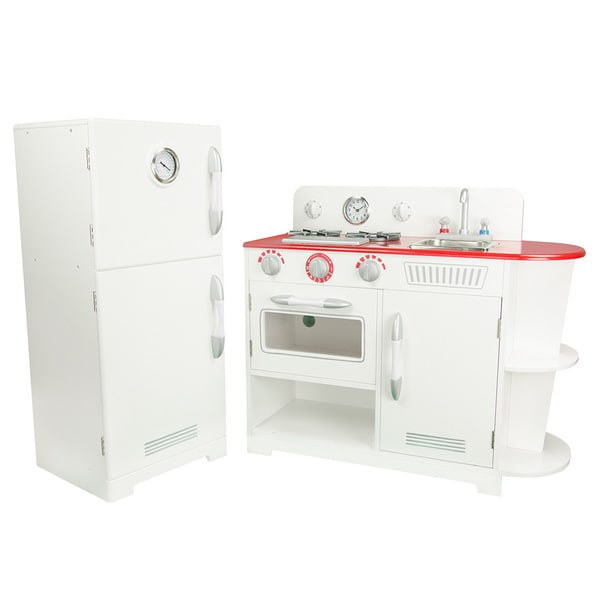 Amazing Teamson Kids Classic White Play Kitchen   Free Shipping Today    Overstock.com   17309506