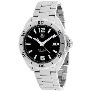 Tag Heuer Men's WAZ2113.BA0875 Formula 1 Round Silvertone Bracelet Watch