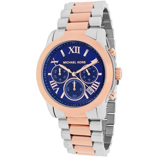 Michael Kors Women's MK6156 Cooper Round Two-tone Bracelet Watch