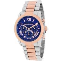Michael Kors Women's  Cooper Round Two-tone Bracelet Watch