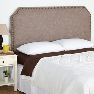 Simple Living Ollie Queen Upholstered Headboard