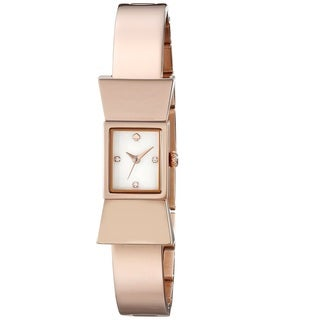 Kate Spade Women's 'Carlyle' Rose Gold Tone Stainless Steel Quartz 1YRU0183