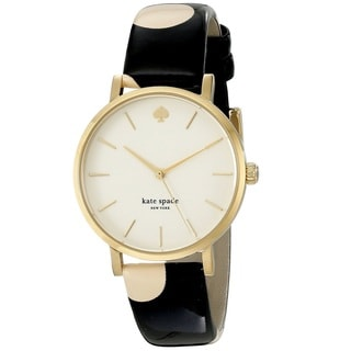 Kate Spade Women's 'Metro' Yellow Gold Tone Stainless Steel Quartz 1YRU0173