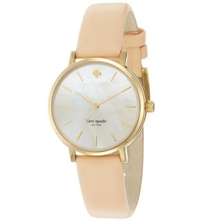 Kate Spade Women's 'Metro' Yellow Gold Tone Stainless Steel Quartz 1YRU0073