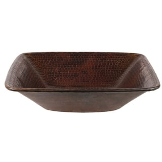 Premier Copper Products Square Hammered Copper Vessel Sink|https://ak1.ostkcdn.com/images/products/10183268/P17309658.jpg?impolicy=medium