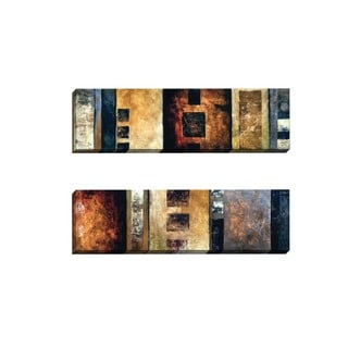 Portfolio Canvas Decor James Brooks 'Breaking the Box I' Framed Canvas Wall Art (Set of 2)