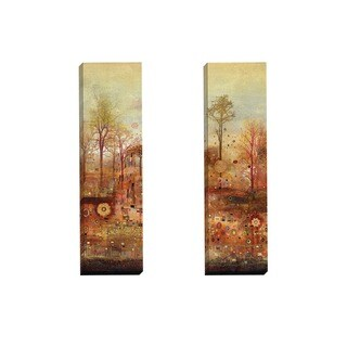 Portfolio Canvas Decor Douglas 'Autumn Delight I' Framed Canvas Wall Art (Set of 2)