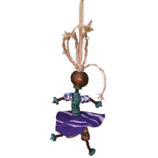 Handmade Global Mamas African Spirit Mama Ornament (Ghana)