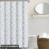 Echelon Home Gramercy Shower Curtain