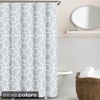 Echelon Home Gramercy Shower Curtain (2 options available)