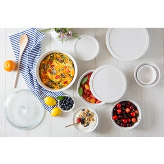 CorningWare French White 10-piece Set