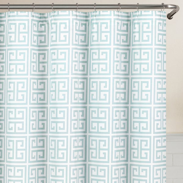 echelon home greek key shower curtain free shipping on orders over 45