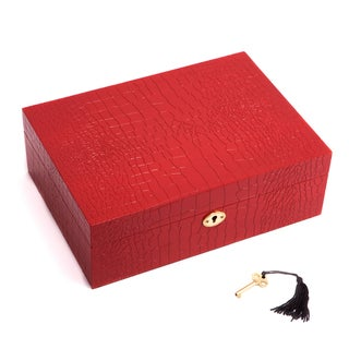 Bey Berk Lara Lacquered Wood Jewelry Box