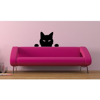 Funny cat Vinyl Sticker Wall Art