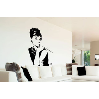 Audrey Hepburn Vinyl Sticker Wall Art