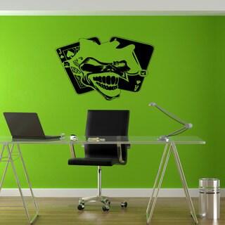 Joker Playing Card Vinyl Sticker Wall Art